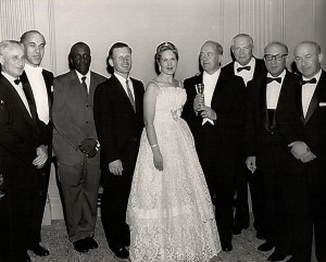 Queen Esther - Marc Lavry with the soloists and dignitaries at the after-party